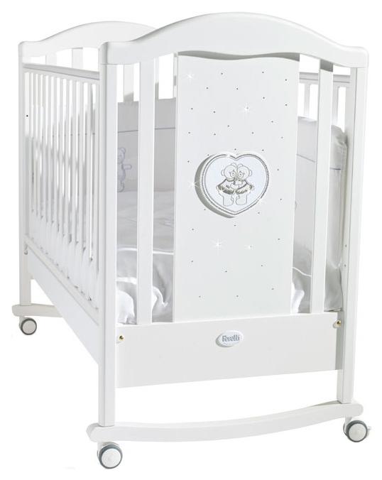 Кровать детская Feretti Mon Amour Dondolo Bianco/Белый фото