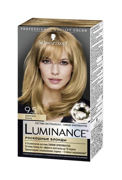 Краска для волос Schwarzkopf Luminance Color 9.5 Шампань блонд 165 мл