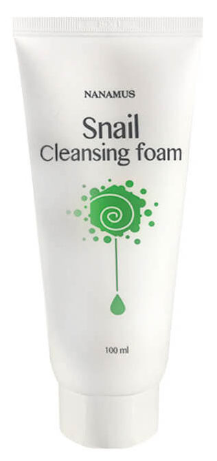 Пенка для умывания Nanamus Snail Foam Cleansing