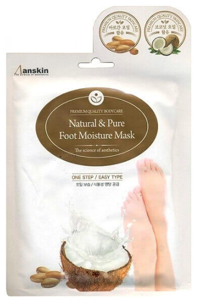 Купить Маска для ног Anskin Natural & Pure Foot Moisture Mask 16 мл