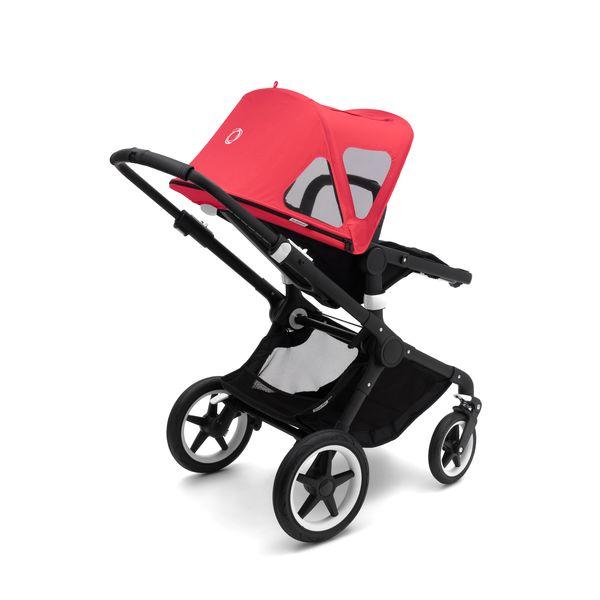 Купить Капюшон от солнца к коляске BUGABOO Fox Breezy cameleon3 neon red, Накидки от солнца для коляски