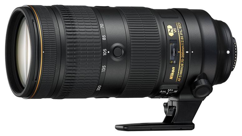 Объектив Nikon AF-S Nikkor 70-200mm f/2,8E FL ED VR