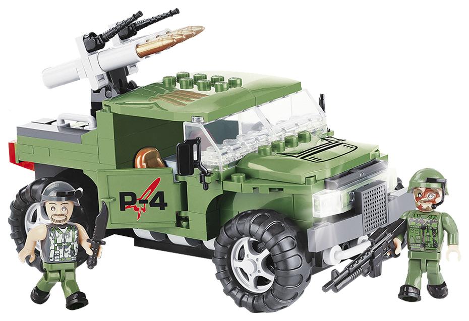 Купить Конструктор пластиковый COBI Военный джип P-4 Armoured Car, Конструкторы пластмассовые