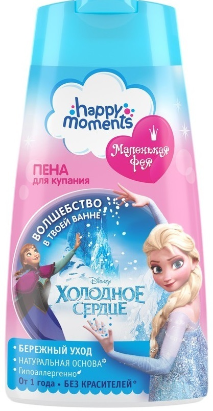 Купить Пена для купания Маленькая фея happy moments волшебная серия 240 мл, Маленькая Фея, Детская пена для ванны