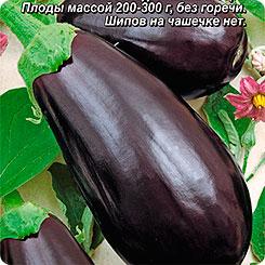 Семена Баклажан Дракоша, 0,3 г, АЭЛИТА