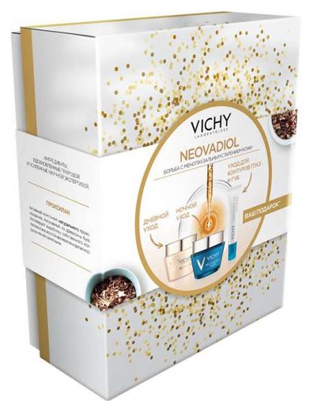 Набор для лица VICHY дневной крем 50мл+ночной крем 50мл+крем для глаз 15 мл