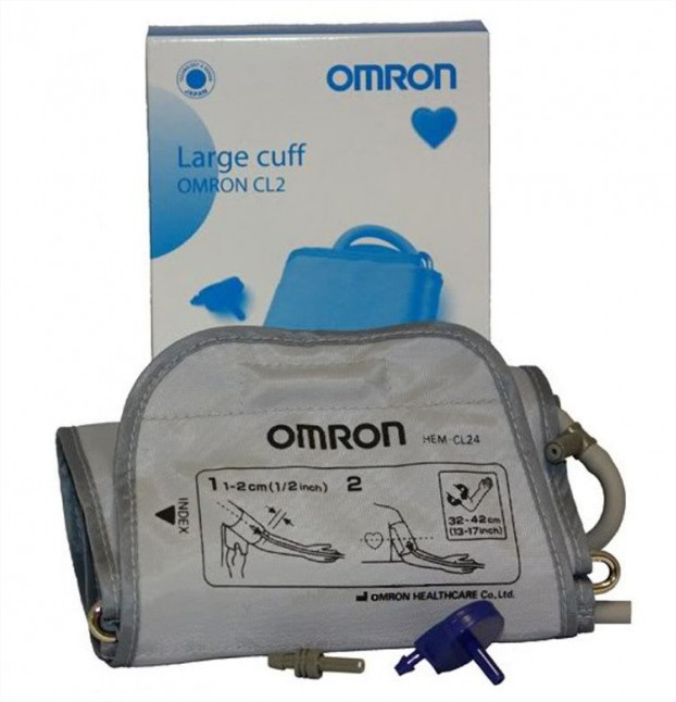 Манжета Omron CL Large Cuff CL24 для тонометра большая 32-42 см