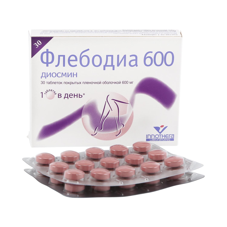 Флебодиа таблетки 600 мг 30 шт.