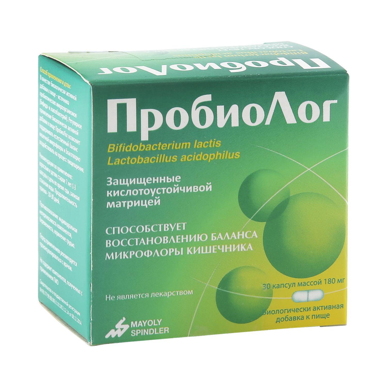 ПробиоЛог Mayoly-Spindler 180 мг 30 капсул
