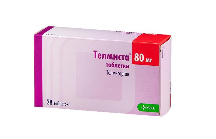 Купить Телмиста таблетки 80 мг 28 шт., KRKA