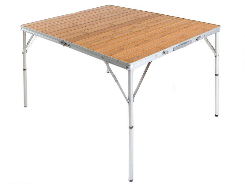 Туристический стол Maverick Bamboo коричневый