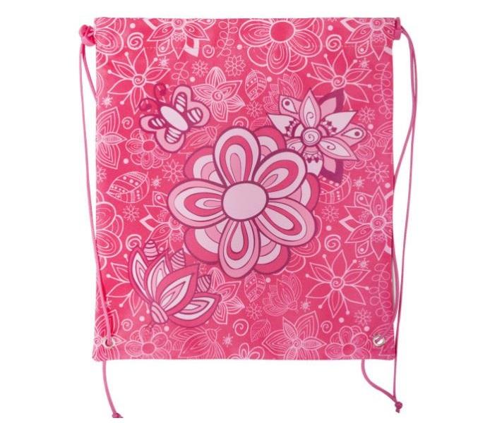 Мешок для обуви ACTION! by TIGER Цветы Розовый