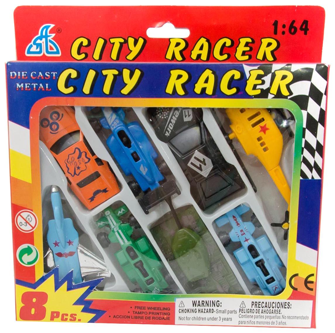 Купить Набор машинок 8 шт. Motor Wheels 1:64, Shenzhen Toys, Игрушечные машинки