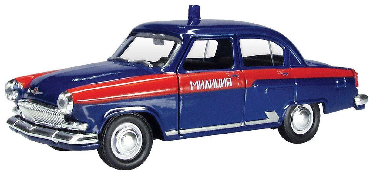 Купить Волга; ГАЗ, Машинка металлическая ГАЗ-21 Волга советская милиция 1:43, Autotime,