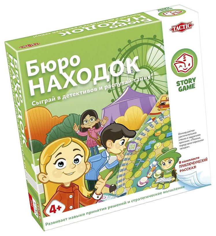 Купить Настольная игра Tactic Games Бюро находок, Семейные настольные игры