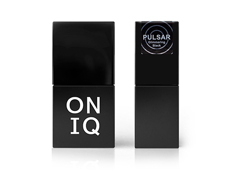 Купить Гель-лак Oniq 157 Pulsar: Glimmering Black, 10 мл