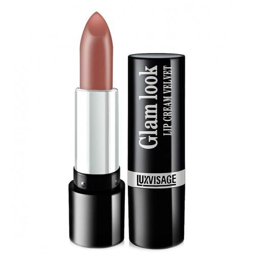 Губная помада Luxvisage Glam Look Lip Cream Velvet №302 молочный шоколад фото