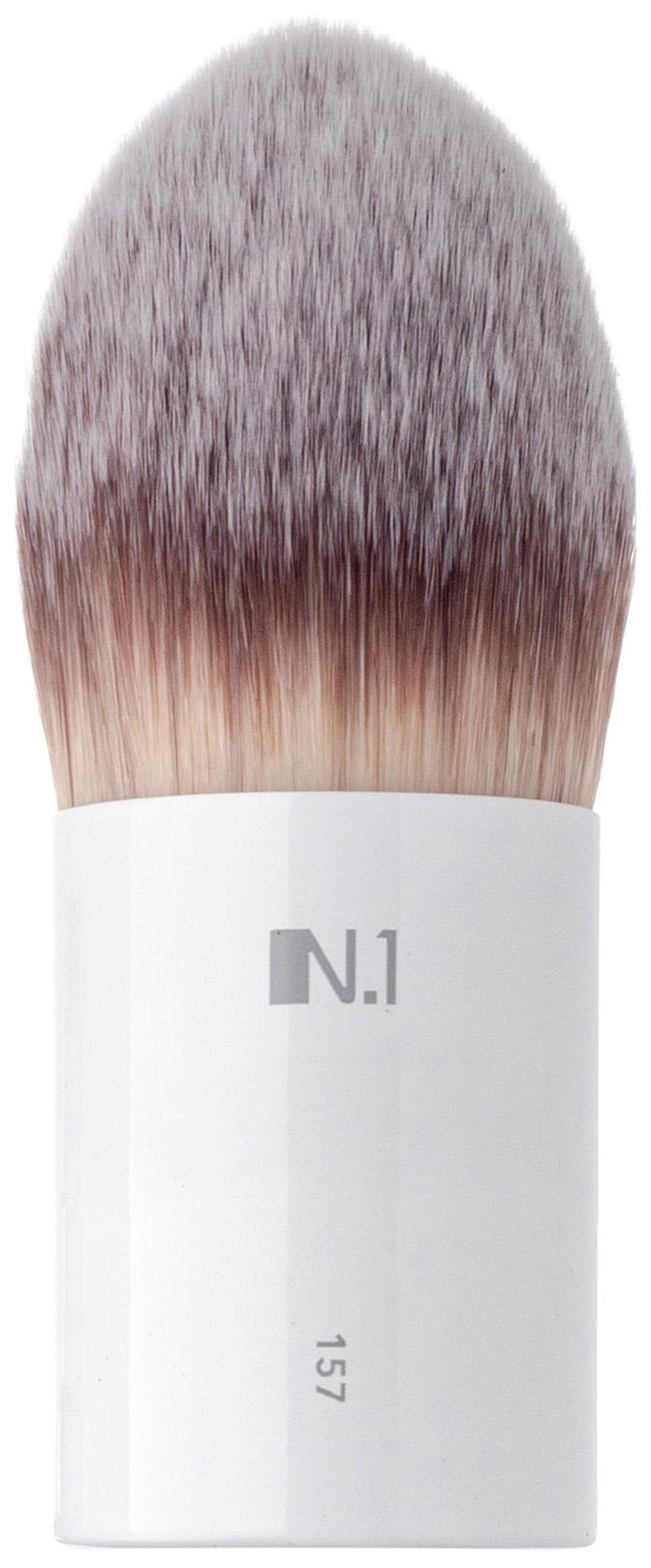 Кисть для макияжа N.1 Заостренная кабуки из ворса таклон №157