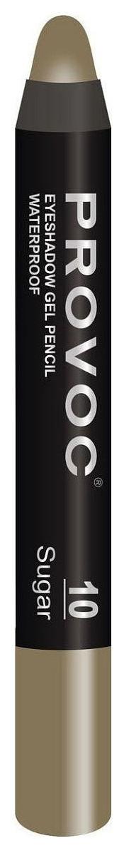 Купить Тени для век Provoc Waterproof Eyeshadow Gel Pencil 10 Оливковый 2, 3 г