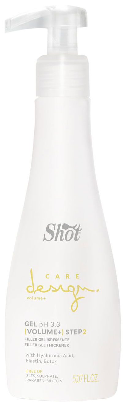 Гель для волос Shot Care Design Volume+