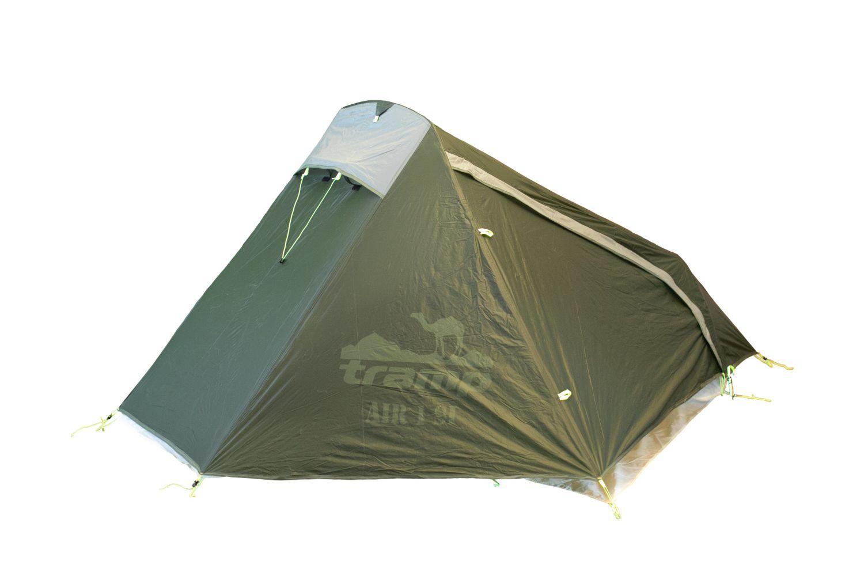Палатка Tramp Air 1 Si dark green Цвет зеленый