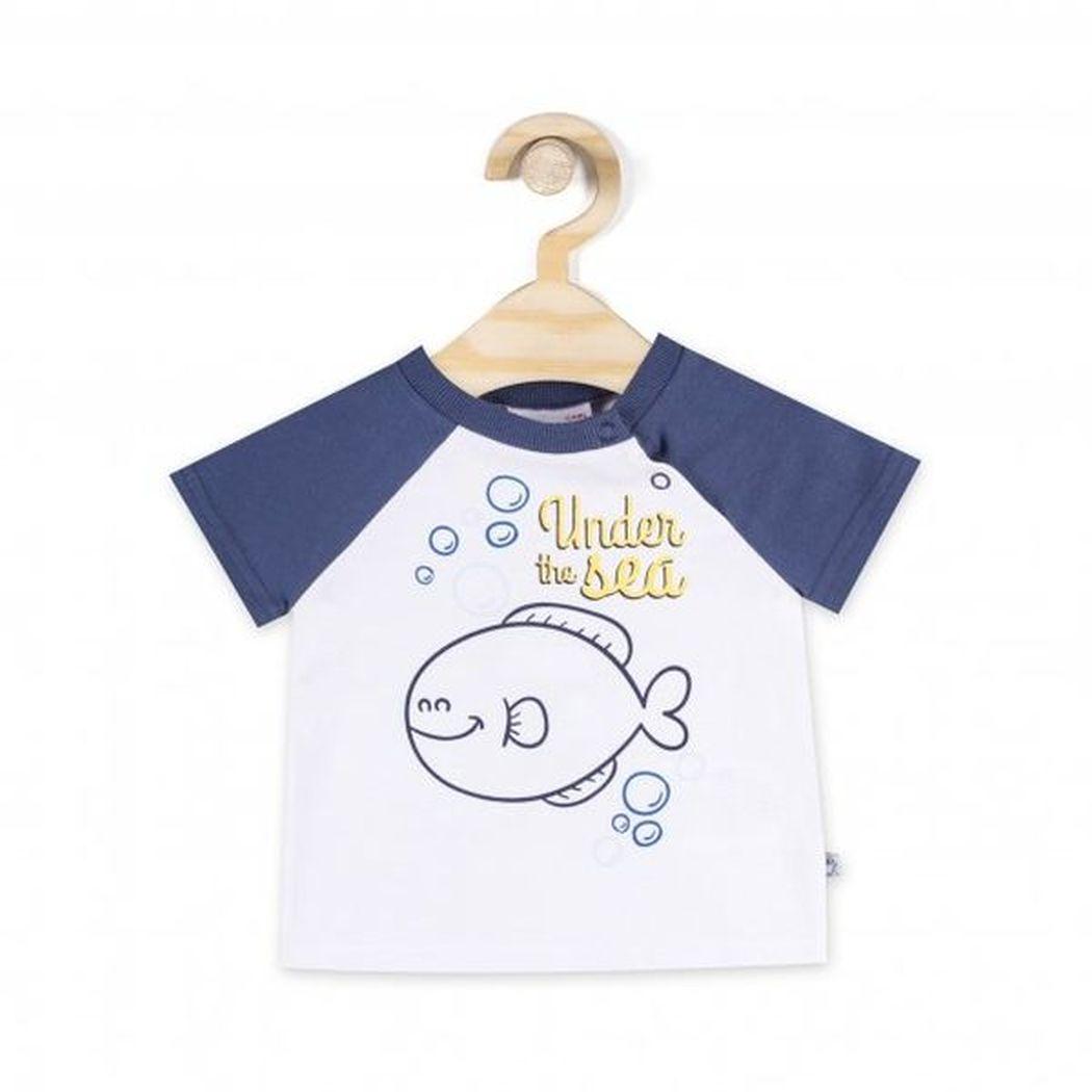 Купить L18143202UND, Футболка для мальчиков COCCODRILLO р.68, Детские футболки, топы
