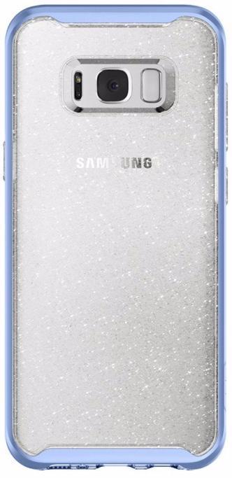 Чехол-накладка Spigen Neo Hybrid Crystal Glitter для Samsung Galaxy S8 Blue Quartz