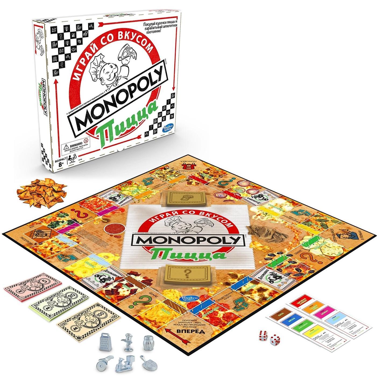 Настольная игра Hasbro Games Монополия Пицца
