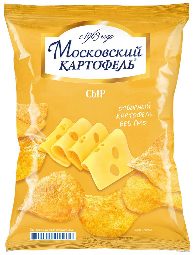 Чипсы картофельные Московский картофель сыр 70 г фото