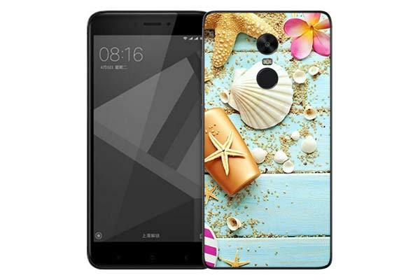 Чехол Gosso Cases для Xiaomi Redmi Note 4X «Пляжный натюрморт»