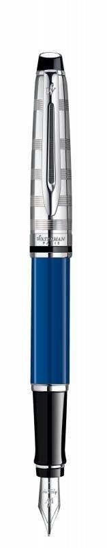 Ручка перьевая Expert Deluxe Blue CT Waterman