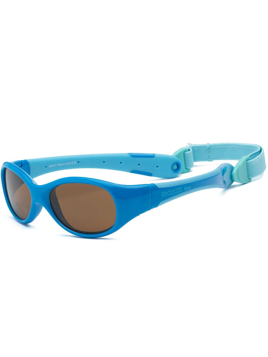 Очки Real Kids солнечные Explorer 0EXPBLLB голубые 0+