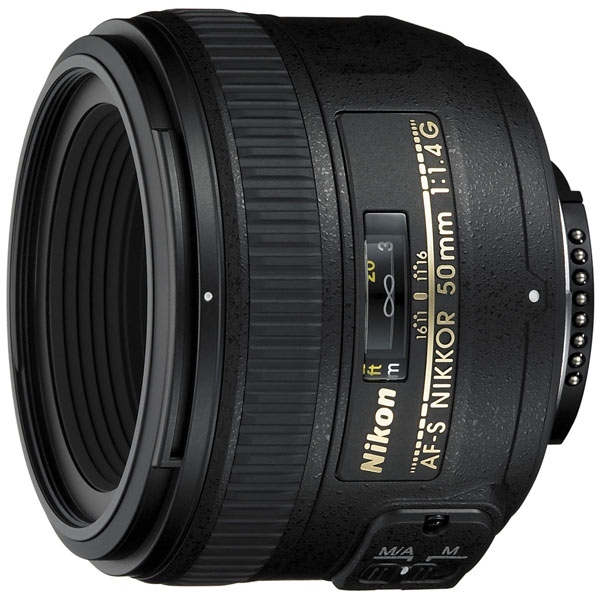 Объектив Nikon AF-S Nikkor 50mm f/1.4G фото