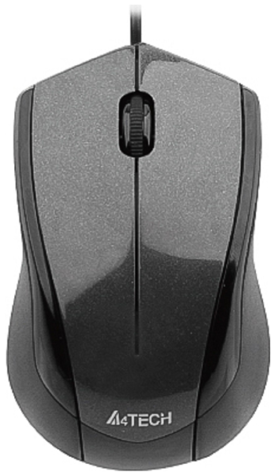 Проводная мышка A4Tech V-Track Padless N-400-1 Black