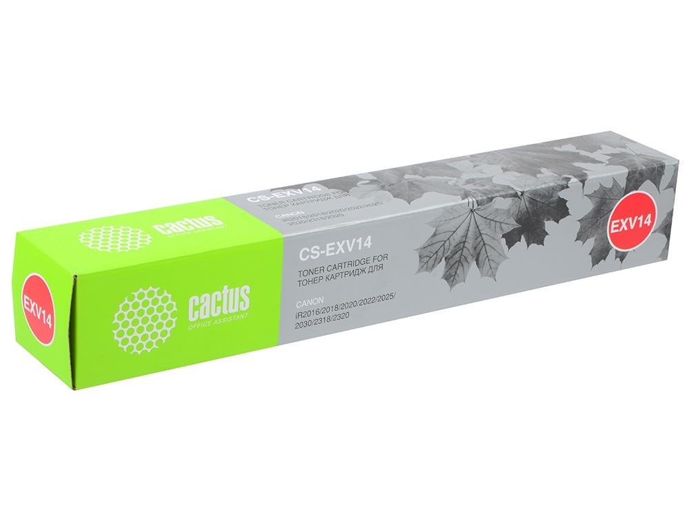 Картридж для лазерного принтера Cactus CS-EXV14 черный