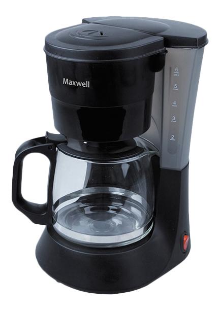 Кофеварка капельного типа Maxwell MW-1650 Black mW-1650 BK