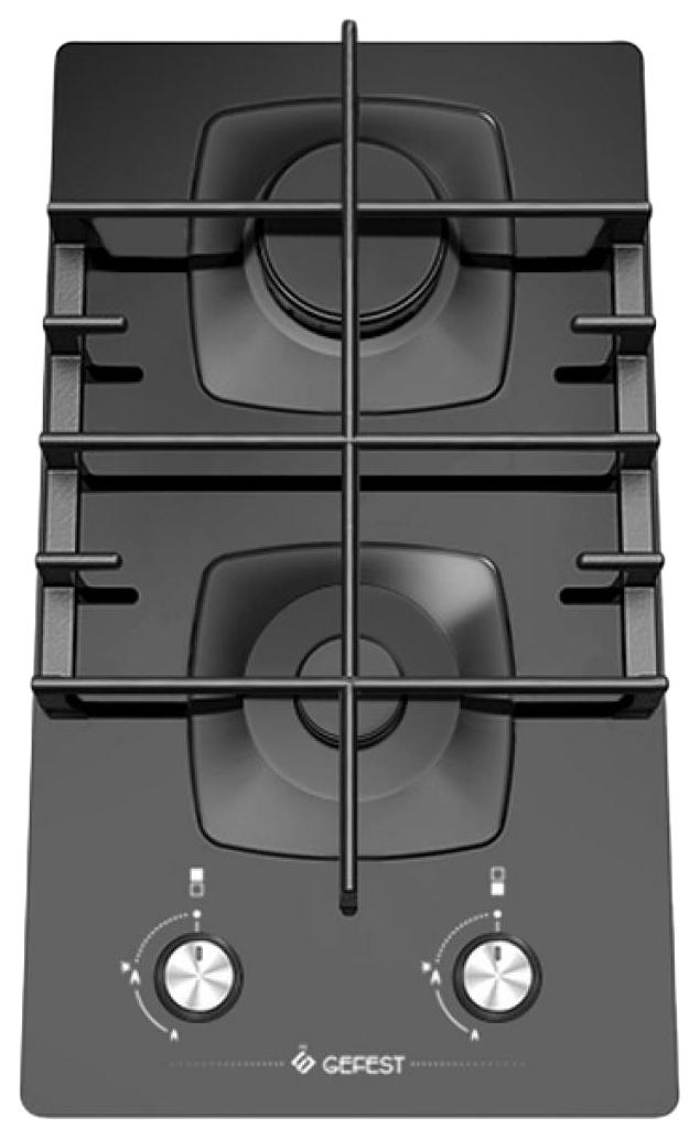 Встраиваемая варочная панель газовая GEFEST ПВГ 2003 Black