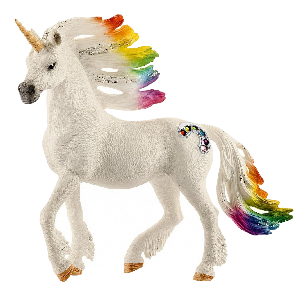 Купить Жеребец радужного единорога, Фигурка лошадки Schleich Радужный единорог жеребец 70523, Фигурки животных