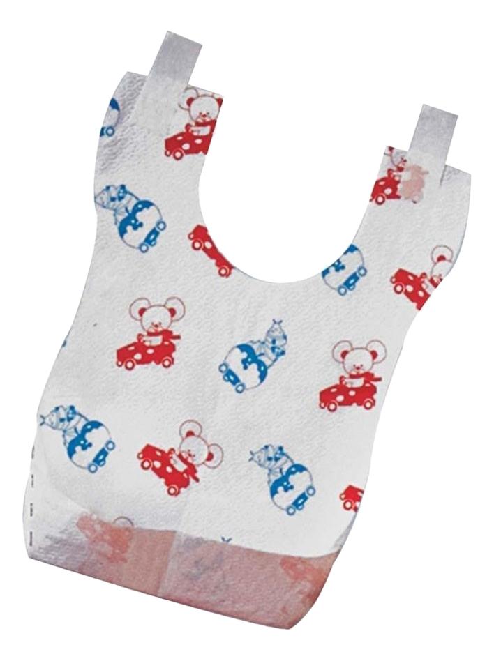 Купить Нагрудник детский одноразовый Chicco Easy Meal, 40 шт., Слюнявчики