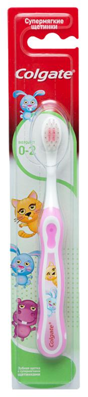 Купить Зубная щетка Colgate Smiles My First Для детей до 2 лет,