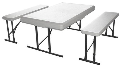 Набор складной мебели GREEN GLADE B113: стол + 2 скамьи
