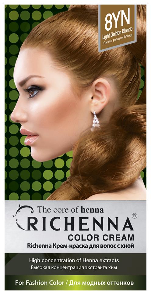 Краска для волос RICHENNA Color Cream 8YN Light