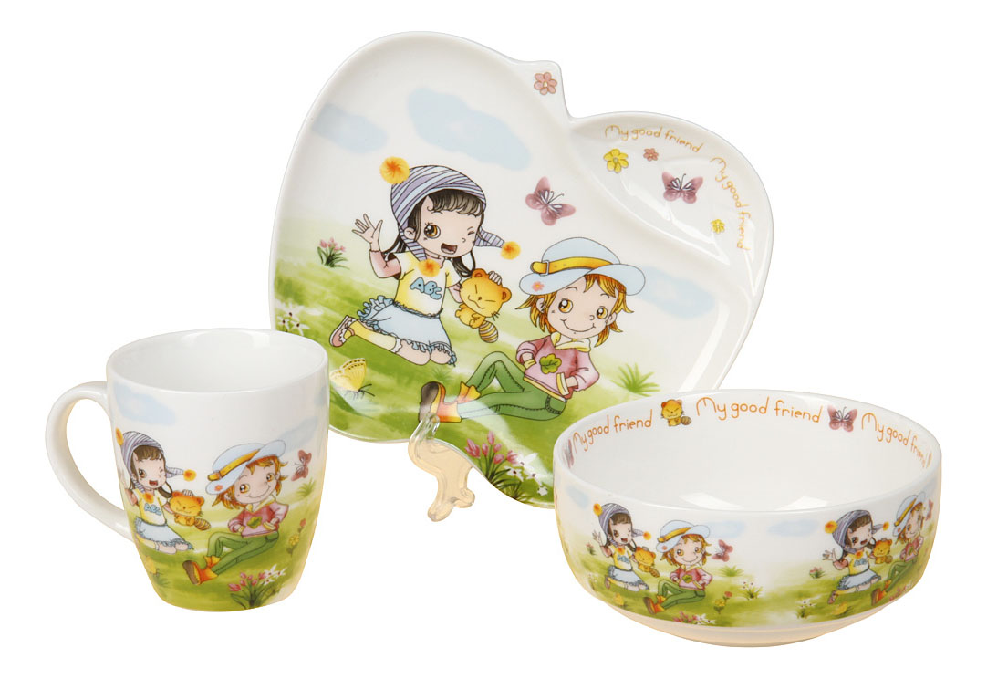 Купить Набор детской посуды 8778, Набор детской посуды, Rosenberg, Наборы детской посуды