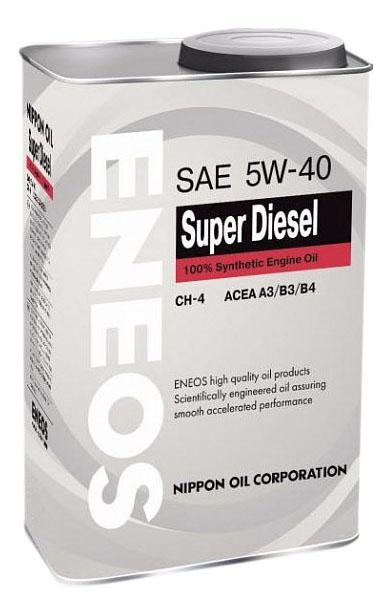 Моторное масло Eneos Super Diesel CH-4 5W-40 0,946л