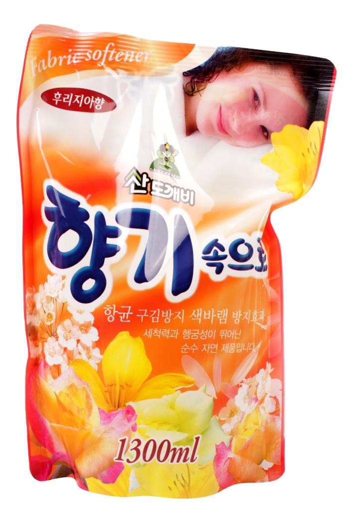 Кондиционер для белья Sandokkaebi soft aroma фрезия