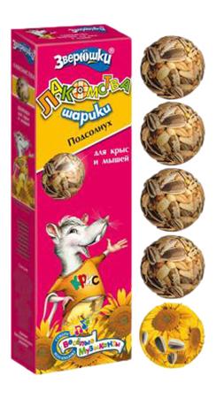 Лакомство для крысы, мышей Зоомир витаминизированный, 80г фото