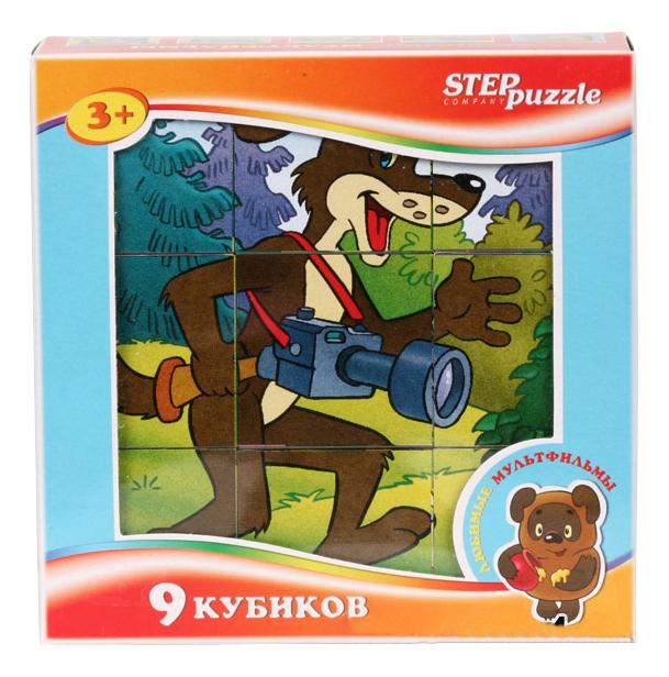 Детские кубики STEP Puzzle Любимые мультфильмы фото