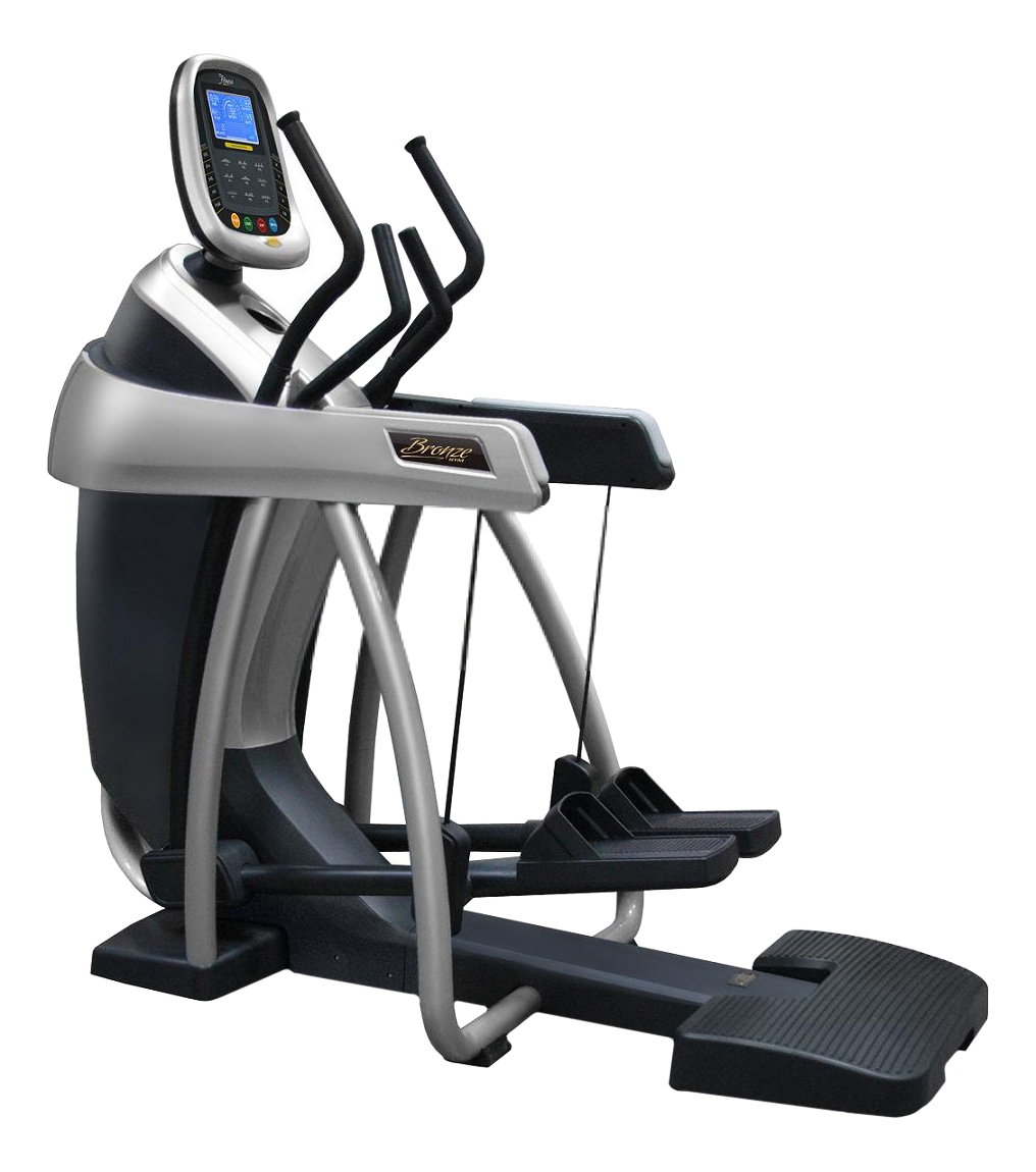 Эллиптический тренажер Bronze Gym CTR фото