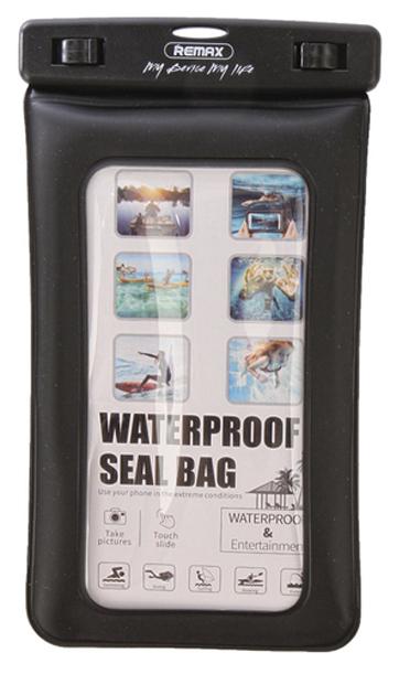 Чехол водонепроницаемый Remax RT-W2 Plus Black