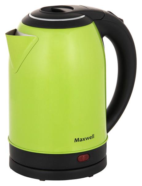 Чайник электрический Maxwell MW 1099G Black/Green